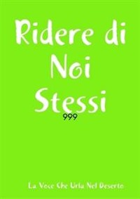 Cover Ridere di Noi Stessi