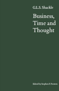 Cover Business, Time and Thought