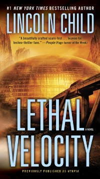 Cover Lethal Velocity (Previously published as Utopia)