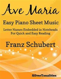 Cover Ave Maria Easy Piano Sheet Music