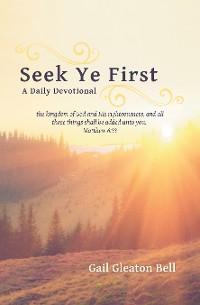 Cover Seek Ye First