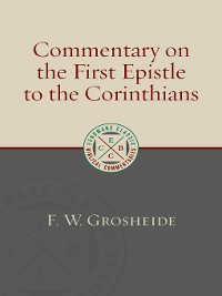 Cover Commentary on the First Epistle to the Corinthians