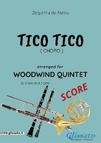 Cover Tico Tico - Woodwind Quintet SCORE