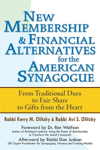 Cover New Membership & Financial Alternatives for the American Synagogue