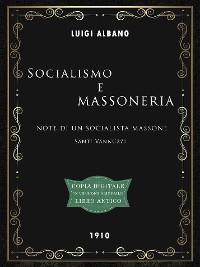 Cover Socialismo e Massoneria