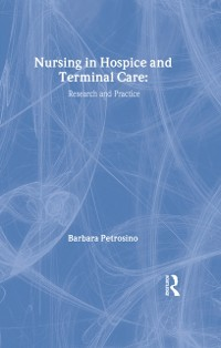 Cover Nursing in Hospice and Terminal Care