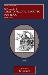 Cover Bi-Compendio di DIRITTO PRIVATO e DIRITTO PUBBLICO facile facile