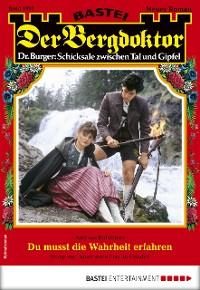 Cover Der Bergdoktor 1997 - Heimatroman