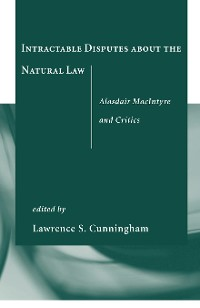 Cover Intractable Disputes about the Natural Law
