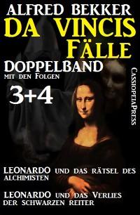 Cover Da Vincis Fälle Doppelband mit den Folgen 3 und 4 - Leonardo und das Verlies der schwarzen Reiter/Leonardo und das Rätsel des Alchimisten