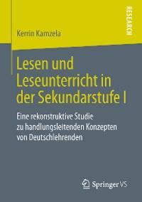 Cover Lesen und Leseunterricht in der Sekundarstufe I