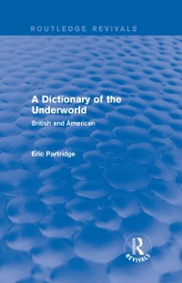 Cover Dictionary of the Underworld