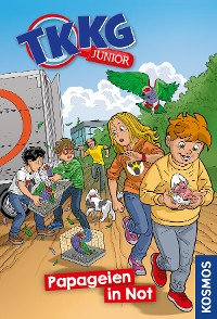 Cover TKKG Junior, 5, Papageien in Not