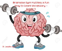Cover Brainwise Gym Puzzles: A Fun Way to Learn Vocabulary – Grade 3