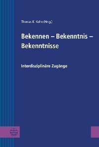 Cover Bekennen - Bekenntnis - Bekenntnisse