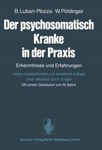 Cover Der psychosomatisch Kranke in der Praxis