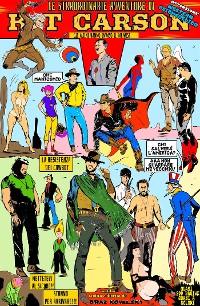 Cover Kit Carson e le sue straordinarie avventure