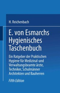 Cover E. von Esmarchs Hygienisches Taschenbuch