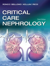 Cover Critical Care Nephrology E-Book