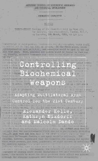 Cover Controlling Biochemical Weapons
