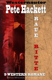 Cover Raue Ritte - 9 Western Romane