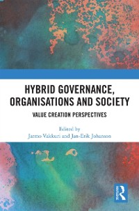 Cover Hybrid Governance, Organisations and Society