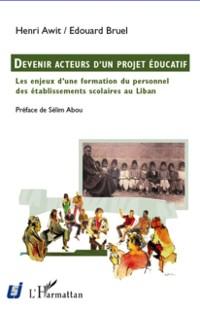 Cover Devenir acteurs d'un projet educatif
