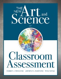 Cover The New Art and Science of Classroom Assessment
