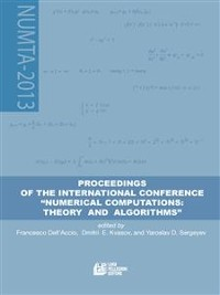 """Cover Proceedings of the international conference """"""""NUMERICAL COMPUTATIONS: THEORY AND ALGORITHMS"""""""