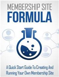 Cover Membership Site Formula