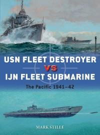 Cover USN Fleet Destroyer vs IJN Fleet Submarine