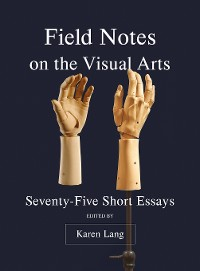 Cover FIELD NOTES ON THE VISUAL ARTS DG