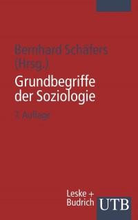 Cover Grundbegriffe der Soziologie