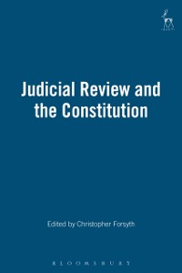 Cover Judicial Review and the Constitution