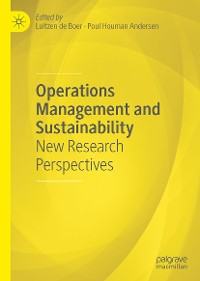 Cover Operations Management and Sustainability