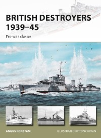 Cover British Destroyers 1939 45
