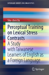 Cover Perceptual Training on Lexical Stress Contrasts