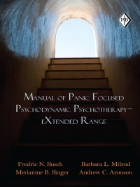 Cover Manual of Panic Focused Psychodynamic Psychotherapy - eXtended Range