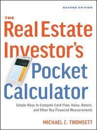 Cover The Real Estate Investor's Pocket Calculator