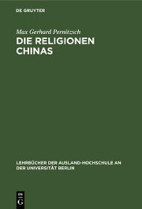 Cover Die Religionen Chinas