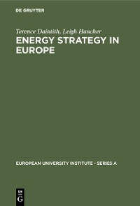 Cover Energy Strategy in Europe