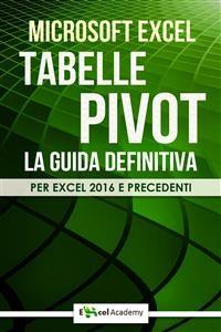 Cover Tabelle Pivot - La guida definitiva