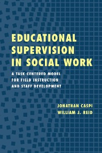 Cover Educational Supervision in Social Work