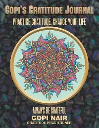Cover Gopi's Gratitude Journal