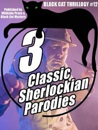 Cover 3 Sherlockian  Parodies