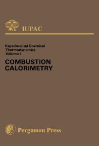 Cover Combustion Calorimetry