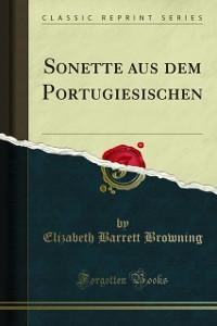 Cover Sonette aus dem Portugiesischen