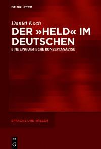 Cover Der »Held« im Deutschen
