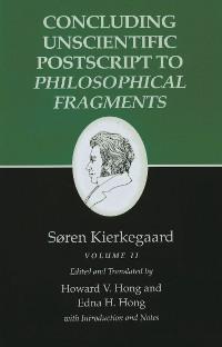 Cover Kierkegaard's Writings, XII, Volume II