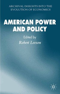 Cover American Power and Policy